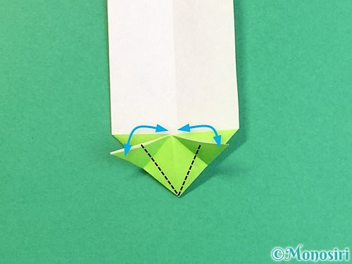 折り紙で龍の折り方手順18