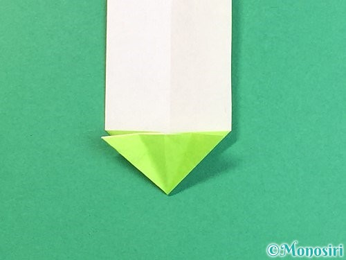 折り紙で龍の折り方手順19