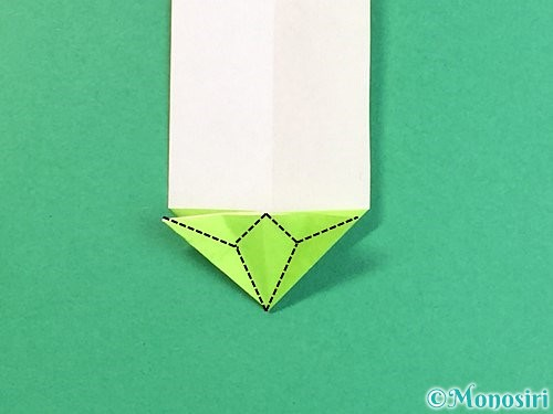 折り紙で龍の折り方手順20