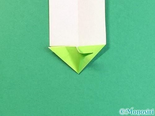 折り紙で龍の折り方手順22