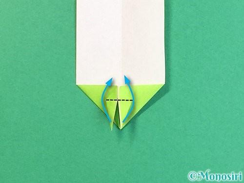 折り紙で龍の折り方手順26