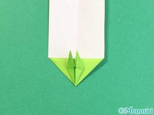 折り紙で龍の折り方手順27