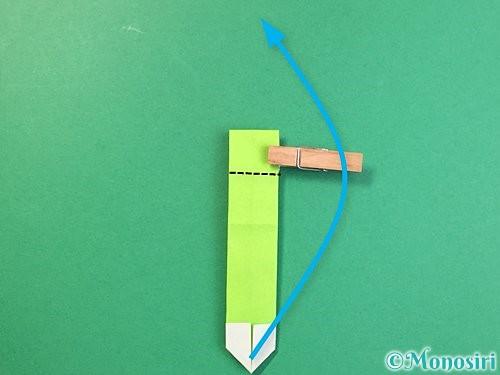 折り紙で龍の折り方手順40