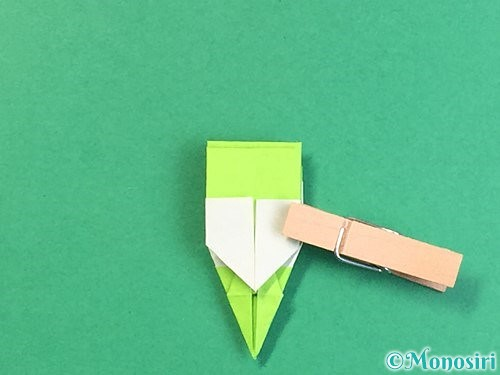 折り紙で龍の折り方手順47