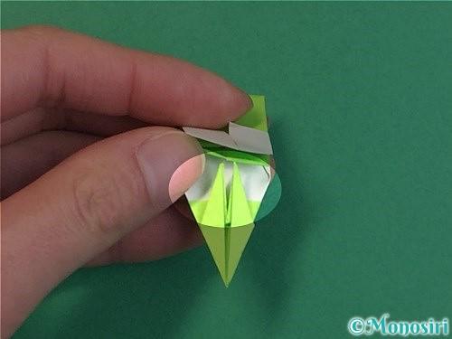 折り紙で龍の折り方手順48