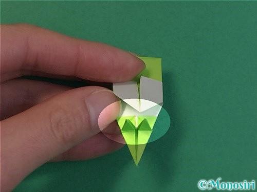折り紙で龍の折り方手順49