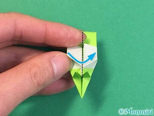 折り紙で龍の折り方手順50