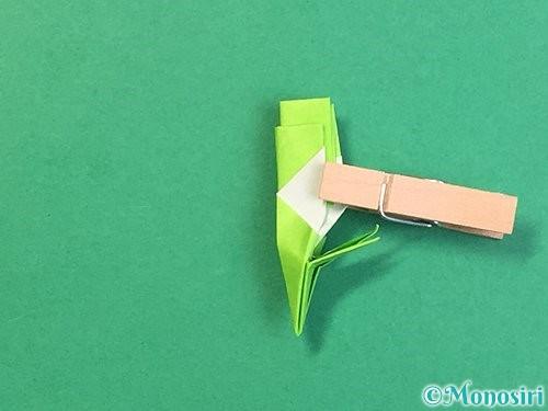 折り紙で龍の折り方手順51