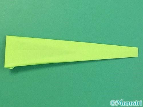 折り紙でヘビの折り方手順14