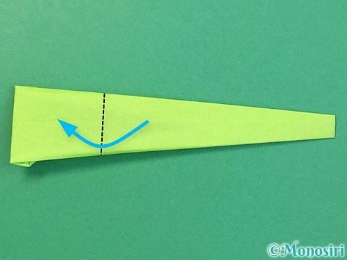 折り紙でヘビの折り方手順15