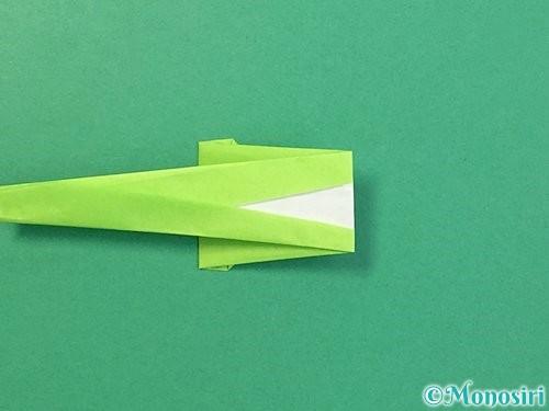 折り紙でヘビの折り方手順16