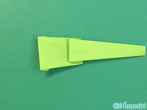 折り紙でヘビの折り方手順18