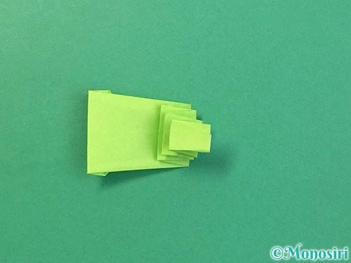 折り紙でヘビの折り方手順20