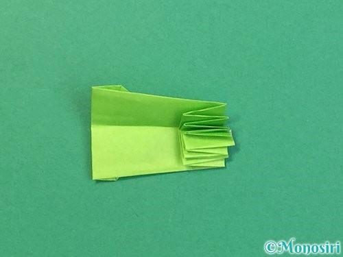 折り紙でヘビの折り方手順23