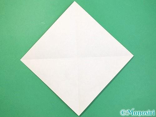 折り紙で立体的な蛇の折り方手順2