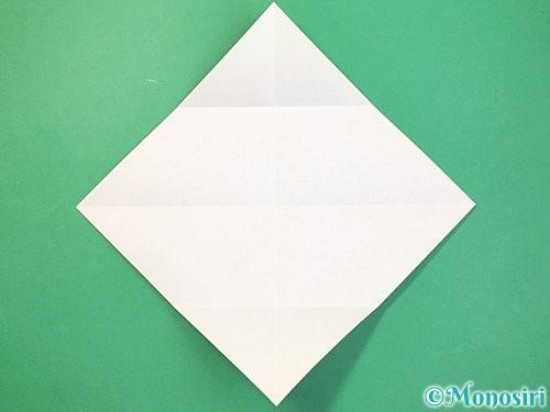 折り紙で立体的な蛇の折り方手順4