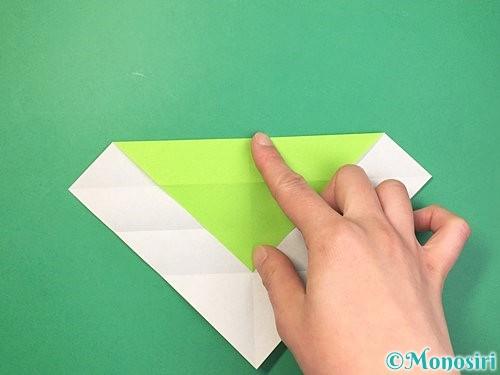 折り紙で立体的な蛇の折り方手順7