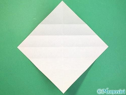 折り紙で立体的な蛇の折り方手順8