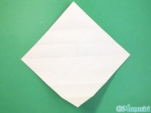 折り紙で立体的な蛇の折り方手順10