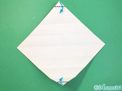 折り紙で立体的な蛇の折り方手順11