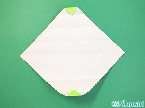 折り紙で立体的な蛇の折り方手順12