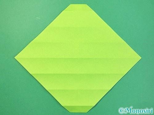 折り紙で立体的な蛇の折り方手順13