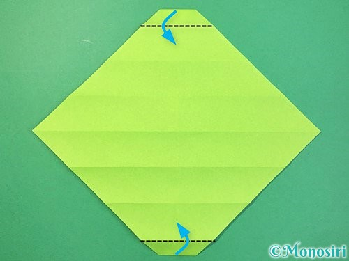 折り紙で立体的な蛇の折り方手順14