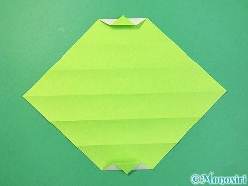 折り紙で立体的な蛇の折り方手順15