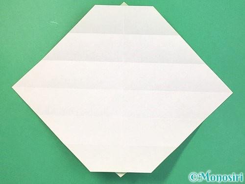 折り紙で立体的な蛇の折り方手順16