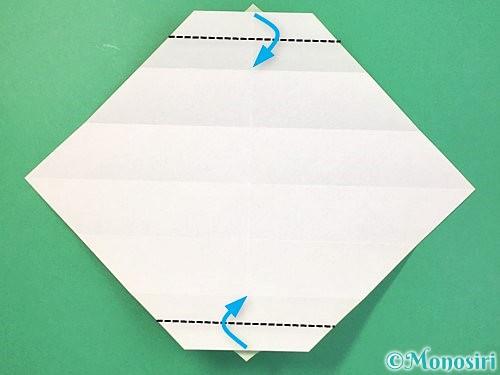 折り紙で立体的な蛇の折り方手順17