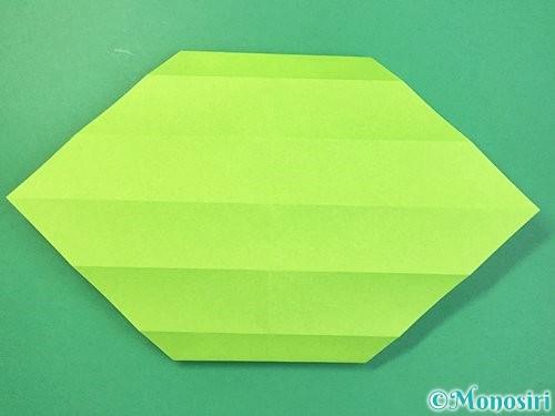 折り紙で立体的な蛇の折り方手順19
