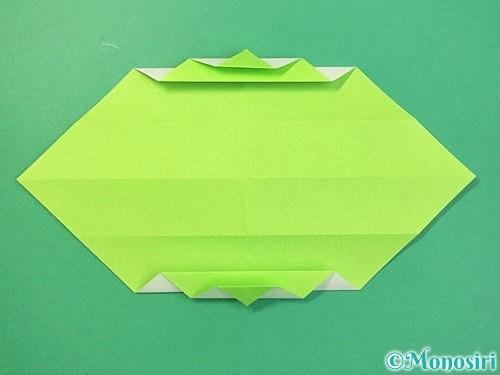 折り紙で立体的な蛇の折り方手順21