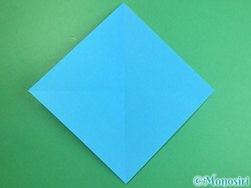 折り紙で立体的な馬の折り方手順2