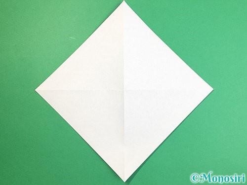 折り紙で立体的な馬の折り方手順3