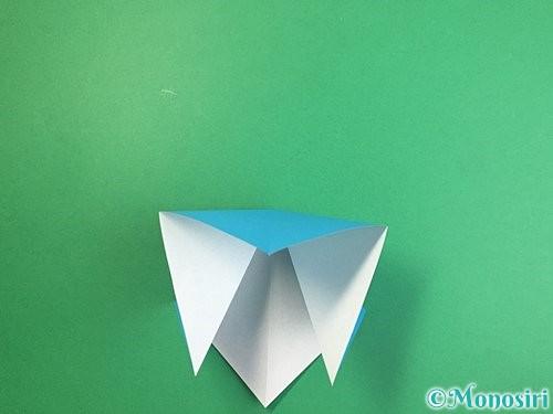 折り紙で立体的な馬の折り方手順7