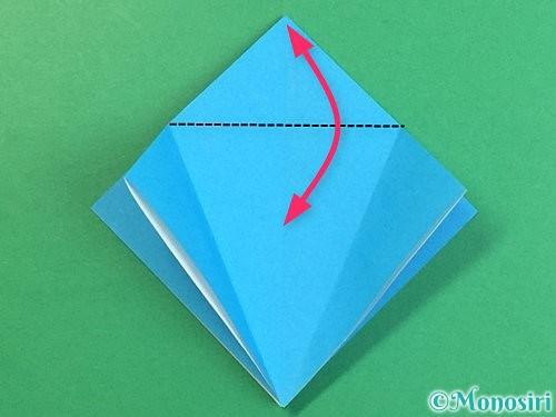 折り紙で立体的な馬の折り方手順11