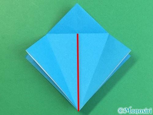 折り紙で立体的な馬の折り方手順14