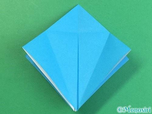 折り紙で立体的な馬の折り方手順15