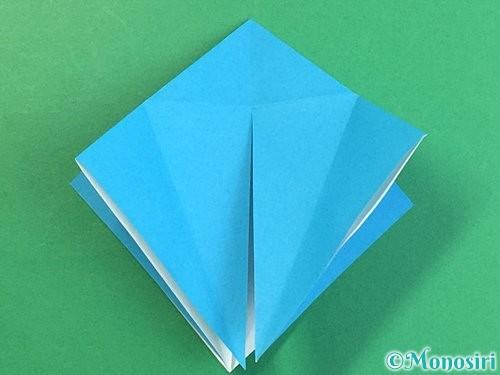 折り紙で立体的な馬の折り方手順16