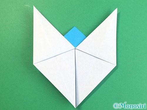 折り紙で立体的な馬の折り方手順18