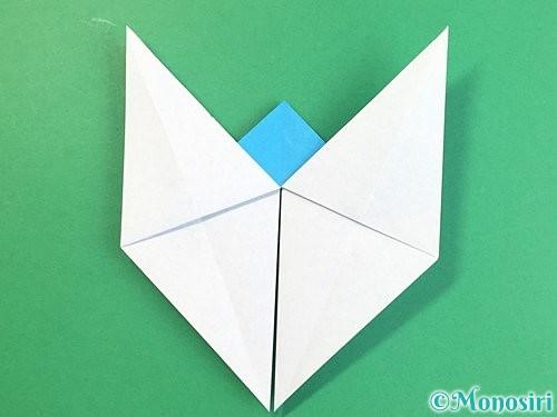 折り紙で立体的な馬の折り方手順19