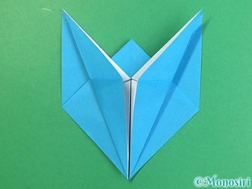 折り紙で立体的な馬の折り方手順21
