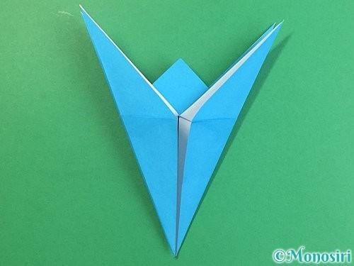 折り紙で立体的な馬の折り方手順22