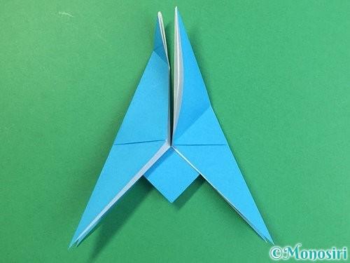 折り紙で立体的な馬の折り方手順25