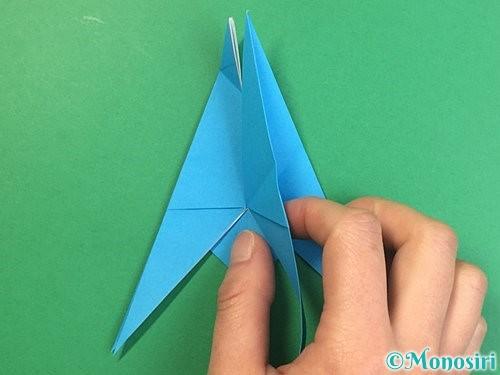 折り紙で立体的な馬の折り方手順26