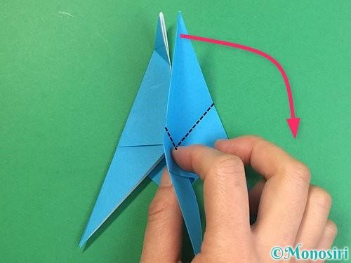折り紙で立体的な馬の折り方手順27