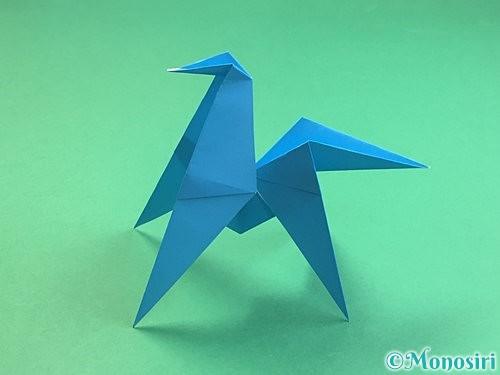 折り紙で立体的な馬の折り方手順31