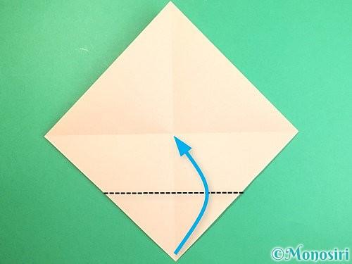 折り紙で立体的な羊の折り方手順3