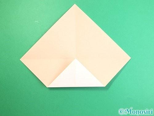 折り紙で立体的な羊の折り方手順4