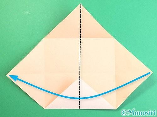 折り紙で立体的な羊の折り方手順7